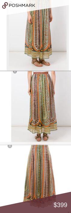7162ca9e03 🔥Valentino tribal long skirt Valentino tribal long skirt