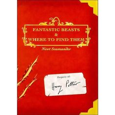 Fantastic Beasts Where to Find Them Newt Scamander (J. K. Rowling) The... ❤ liked on Polyvore featuring home e home improvement