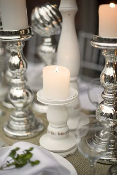 Candle sockets - different styles