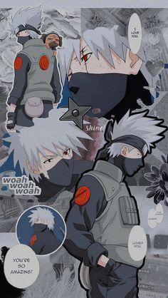 edits on Twit Naruto Kakashi, Anime Naruto, Art Naruto, Naruto Cute, Naruto Shippuden Sasuke, Kakashi Hatake Hokage, Shikamaru, Hinata, Boruto