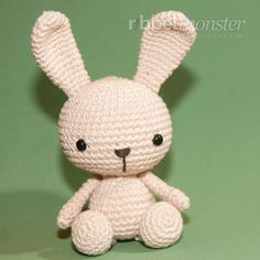 Amigurumi Häschen häkeln Fips Anleitung Instrucciones Amigurumi Bunny Crochet Fips The post Instrucciones Amigurumi Bunny Crochet Fips appeared first on Crystal Wilson. Bunny Crochet, Crochet Amigurumi, Easter Crochet, Amigurumi Doll, Amigurumi Patterns, Crochet Animals, Crochet Dolls, Baby Knitting Patterns, Crochet Patterns