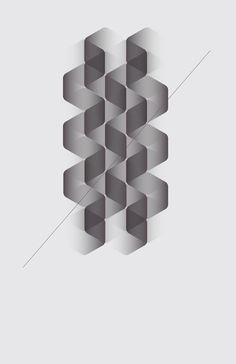 Minimal Graphic Artwork of Geometric Shapes by ngrafik / Jaime Romero