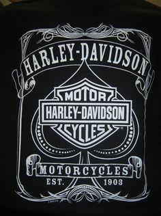 Vintage Harley Davidson T-shirt Más