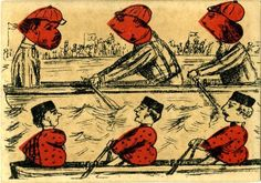 nursery rhyme playing cards from the 1800s.