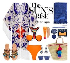 """Beach Life"" by chrisger on Polyvore featuring House of Perna, Athena Procopiou, Vera Bradley, Elina Linardaki, Christian Dior, RGB Cosmetics, Surratt, Urban Decay, NARS Cosmetics and MDSolarSciences"