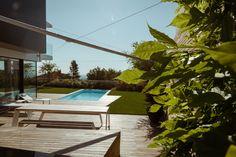 Wohnhaus Ko Ölberg — Kramer and kramer Kos, Terrace, Day Lilies, Limelight Hydrangea, Garden Architecture, Planting, Plants, Nature, Homes