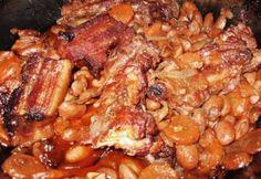 Burgundi babos oldalas Tasty, Yummy Food, Ribs, Chicken Wings, Ham, Bacon, Food Porn, Pork, Food And Drink