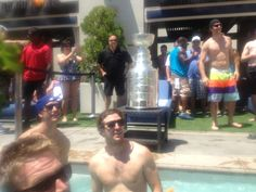 Jeff Carter and Mike Richards
