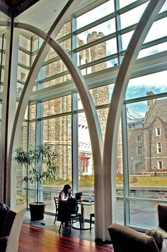 Karl and Mary Ellen von der Heyden Pavilion, Duke University Library.