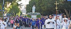 Banner marian procession 1