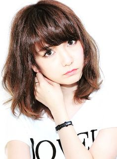 ゆるかわ♡ミディアムボブ 【Amoute】 http://beautynavi.woman.excite.co.jp/salon/27782?pint ≪ #mediumhair #mediumstyle #mediumhairstyle #hairstyle・ミディアム・ヘアスタイル・髪形・髪型≫
