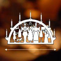 Projekt Laubsage Vorlagen Weihnachten Schwibbogen 6