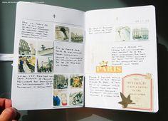 Travel Journal (inside pages) - Cahier de Voyage (pages internes)   Flickr – Compartilhamento de fotos!