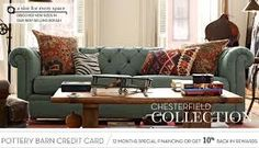 potterybarn chesterfield living room ideas - Google Search