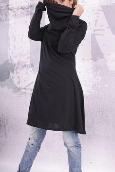 Plus size loose tunic / maternity top / tunic dress / by urbanmood