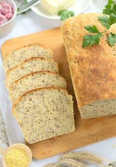 7 Tips to Select Gluten Free Foods Gluten Free Recipes, Bread Recipes, Healthy Recipes, Healthy Food, Breakfast Menu, Polish Recipes, Polish Food, Food For A Crowd, Lactose Free