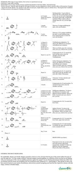 Directing change yoga practice - Sequence Wiz - create effective yoga sequences