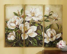Three magnolia