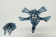 The Shaltari bring a decidedly un-firey Firedrake, because they're awesomely sneaky like that, by humblefire. Drop Zone, Warhammer 40k, Color Schemes, Army, Miniatures, Concept, Bioshock, Cool Stuff, Figurine