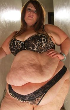 fat double belly amateurs naked