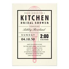 b6f8157a903c Kitchen Bridal Shower Invitations Kitchen Shower