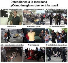 REALIDAD ALTERNATIVA: Detenciones ala Mexicana