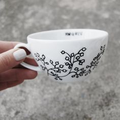 FOR.REST - cappuccino cup #flora #cup #ceramic #porcelain #white #minimal