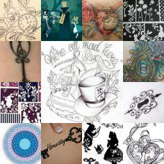 Alice in wonderland tattoo ideas