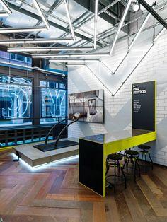 Art Direction + Environment Design - Flatiron Nike Running Store update                  Creative Director: Julie Igarashi Designers: Derrick Lee + Esther Chang
