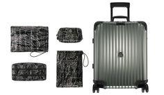 MONCLER & RIMOWA 「モンクレール & リモワ」ファン歓喜のコラボスーツケースが発売!