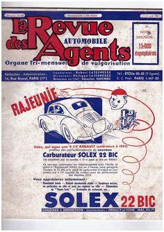 Sales Flyer Renault 4CV