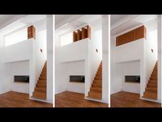 Mezzanine par Alma-Nac - Home Decora La Maison Loft Mezzanine, Mezzanine Bedroom, Loft Room, Bedroom Loft, Apartment Interior Design, Interior Design Living Room, Design Bedroom, Tiny House, Upstairs Loft