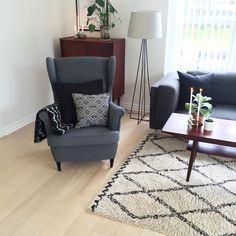 Ikea 'Strandmon' armchair @livingonabudgetdk