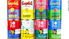 Campbell Soup celebrates the 50th anniversary with Andy Warhol