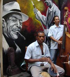 Listening to Cuban Music. Afro Cuban, Cuban Art, Travel Music, Cuba Travel, Trinidad, Cuba Today, Cuba Fashion, Rockabilly Cars, Havana Cuba
