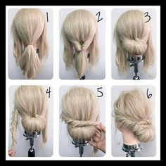 Best 25+ Simple updo ideas on Pinterest | Simple hair updos ... | WomanAdvise - WOMANADVISE.COM