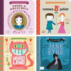 Classics for toddlers. These books are stunning!
