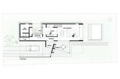 Image 11 of 14 from gallery of House 202 / Unoencinco Arquitectura. Lower Floor Plan