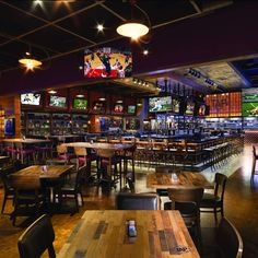 Reserve your table at TAP Sports Bar in the MGM Grand Las Vegas Hotel & Casino today! Home Bar Signs, Diy Home Bar, Home Bar Decor, Bars For Home, Pub Interior, Bar Interior Design, Restaurant Interior Design, Cafe Bar, Cafe Restaurant