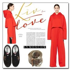 """""""SVMoscow 10"""" by ruza66-c ❤ liked on Polyvore featuring Golden Goose, womenswear and svmoscow"""