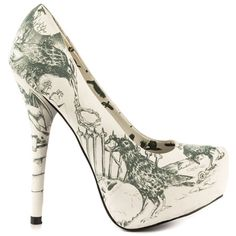 Nevermore Platform - Off White by Iron Fist Swoon worthy!