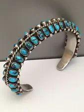 Turquoise Cuff, Turquoise Bracelet, Bisbee Turquoise, Vintage Turquoise, Turquoise Jewelry, Silver Jewelry, Vintage Jewelry, Estilo Navajo, American Indian Jewelry