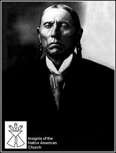 Quanah Parker is one of the first leaders of the Native American Church. He taught that the sacred peyote medicine was the sacrament given to the Indian peoples and was to be used with water when taking communion. Peyote was used in pre-Columbian times to commune with the spirit world and also as a medicine. Peyotists believe in a Supreme God and call for Native American brotherly love, family care, self-support through work, avoidance of alcohol and recreational drug use.