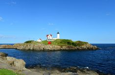 """Cape Neddick, Maine, with its iconic """"Nubble"""" lighthouse, is an easy escape from Boston. Along the way, soak up the sun in Cape Ann, Massachusetts (stay at the Blue Shutters Beachside Inn, Gloucester, from $125), grab a great lobster roll in Portsmouth, New Hampshire, and know that you're spending a bit less than all those folks crowding New England's more famous cape."""