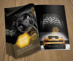 New Beautiful Corporate Brochure Design Ideas / Examples