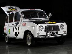 Renault 4 auto d'epoca - auto vintage