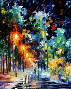 Leonid Afremov, love the colors