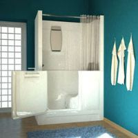 Bathroom Remodel Ideas With Walk In Tub And Shower in this master bathroom remodel we installed a walk in bathtub and