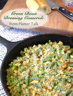 Green Bean Dressing Casserole from Platter Talk