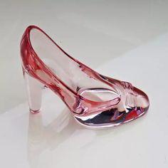 Zapatos de cristal zapatos zapatilla de cristal cumpleaños regalo  decoración del hogar Cenicienta-zapatos de a89f2388fafe